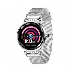 Влагоустойчив дамски смарт часовник Smart technology H2, Пулс, Кръвно налягане