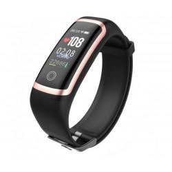 Влагоустойчива смарт гривна Smart technology М8, Пулс, Кръвно налягане, Кислород в кръвта