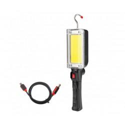 Акумулаторна COB LED Лампа Heavy Duty Worklight ZJ-8859-B, 20W, 700 Lumen