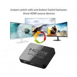 4K HDMI сплитер 1 към 2 за HDTV, DVD, PS4, Xbox