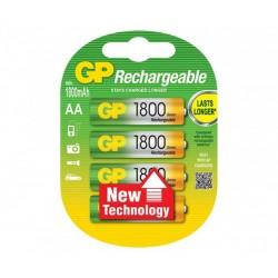 Акумулаторни Батерии GP AA 1800mAh - 2 броя