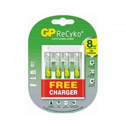 Зарядно устрoйство с 4 бр. AA 2700mAh батерии GP Power bank U411