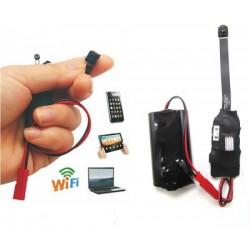 Безжична WIFI/IP скрита шпионска камера за аудио/видео наблюдение на живо (неограничен обхват), 1080P