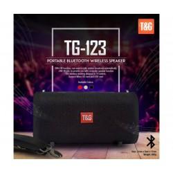 Мощна портативна блутут колона с радио T&G 123