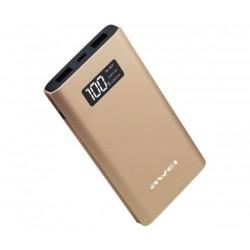 Външна преносима батерия Awei P60K, 10000 mAh