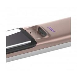 Philips Преса за изправяне MoistureProtect, Плочи с титаниево покритие, Йонна грижа за блестяща коса, Цифров светодиоден дисплей