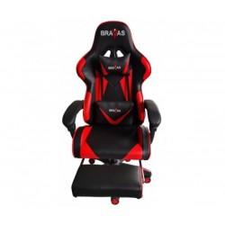 Геймърският стол BRAVAS OS-7911R Черно-Червен