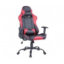 Геймърският стол BRAVAS CH-Y0288A-1R Черно-Червен