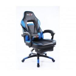 Геймърският стол BRAVAS CH-Y1207E-1BL Черно-Син