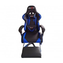 Геймърският стол BRAVAS OS-7911BL Черно-Син