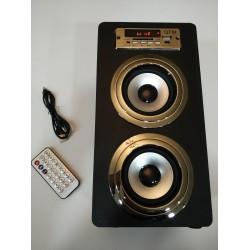 Колона с радио, MP3 от флашка или карта памет и Блутут QFM SU-206