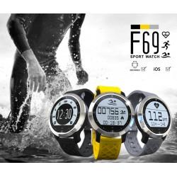 Спортен смарт часовник с Пулсомер водоустойчив - Smart Watch Swimming F69