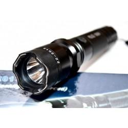 LED полицейски фенер с лазер и електрошок 288