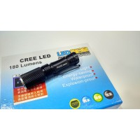 Mini акумулаторен прожектор с CREE LED диод 250000W