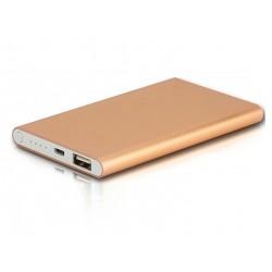 Ултра тънка Метална външна мобилна акумулаторна батерия Power Bank 8000 mah