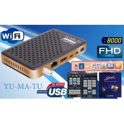 Мини FULL HD Сателитен приемник YUMATU HD Mini
