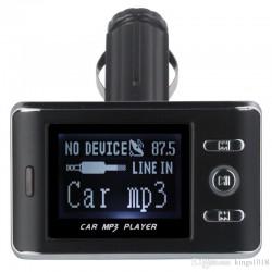 Aвтомобилен FM трансмитер FM18A с 6 месеца гаранция