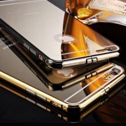 Луксозен Огледален Гръб С Метален Бъмпер За Samsung G920 GALAXY S6