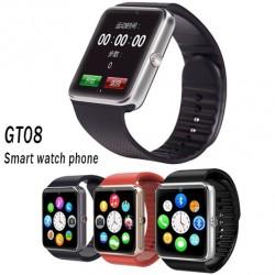 Смарт часовник - телефон с камера, SIM карта, 3G - Smart watch GT08