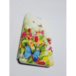 Хоризонтален Калъф Тефтер Със Стойка Book Pocket ART Flip За Alcatel  ONE TOUCH M'POP 5020