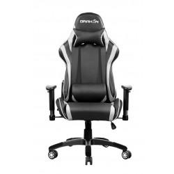Геймърски стол RAIDMAX DRAKON Gaming Chair Black/White DK706RD