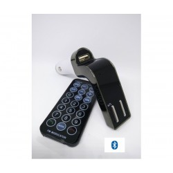 Автомобилен Bluetooth FM трансмитер с USB зарядно за GSM BT Transmitter 590