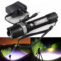Мощен акумулаторен прожектор за Лов и Риболов с SWAT CREE LED диод 350000W
