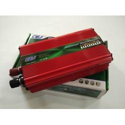 Висококачествен Инвертор на напрежение CEJ 12V - 220V 1000W
