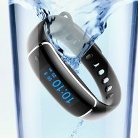 Фитнес гривна с пулсомер и измерване на кръвно налягане Smart Bracelet V08