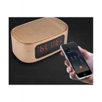 Радио часовник с USB, SD карта, Блутут и голям дисплей Gibox GT-1