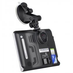"Android GPS навигация 7"" за кола и камион с Вграден Видеорегистратор и Радар Детектор Vivas Android 7057Cam, EU, BT, AVIn, WiFi"