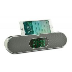 Преносима колона AoDasen JY-40, Радио, Часовник, USB, SD карта, Блутут