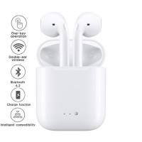 Безжични Bluetooth слушалки I7 TWS със зарядна станция