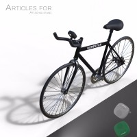 Преносима Bluetooth колона, Hopestar P9, стойка за колело