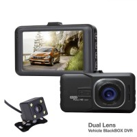 Авто видеорегистратор с 2 камери Full HD DVR Smart Technology Dual Lens Cam