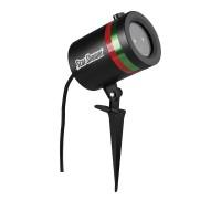 Лазерен проектор BabySbreath Laser Light, Статичен и подвижен, 3D холографски ефект, Външен и вътрешен монтаж