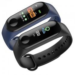 Влагоустойчива смарт гривна Smart technology M12, Пулс, Кръвно налягане