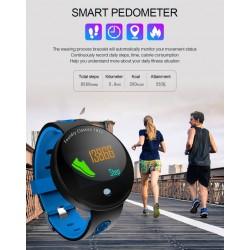 Влагоустойчива смарт гривна Smart technology CF01, Пулс, Кръвно налягане