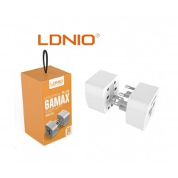 Комплект адаптери за контакт за повече от 150 държави Ldnio Universal Plug 6AMAX Z4
