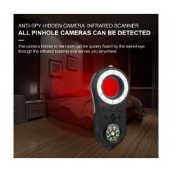Инфрачервен скенер Smart Technology S100, Безжичен прецизен алармен детектор, LED фенерче