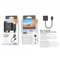 Преходник Techancy TL7325, HDMI към VGA