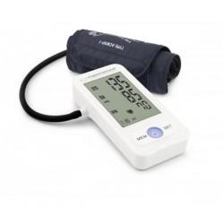 Апарат за измерване на кръвно налягане Esperanza Vitality, Систолично и диастолично, Открива сърдечна аритмия, 90 позиции памет, XXL дисплей, Бял