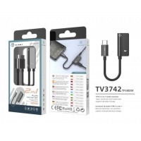 Преходник USB Type C към 3.5 мм Techancy TV3742