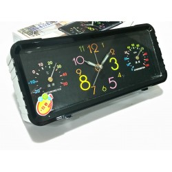 Настолен часовник с аларма, термометър и влагомер