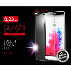 Удароустойчив скрийн протектор Tempered Glass за LG G3