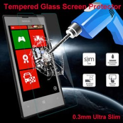 Удароустойчив скрийн протектор Tempered Glass за Nokia Lumia 520