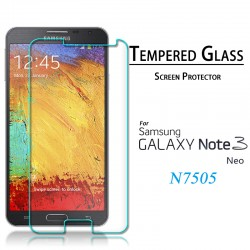 Удароустойчив скрийн протектор Tempered Glass за Samsung N7505  Galaxy Note 3 Neo