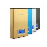 Външна преносима мобилна акумулаторна батерия с дисплей 12000 mAh за телефон, таблет, лаптоп и др.