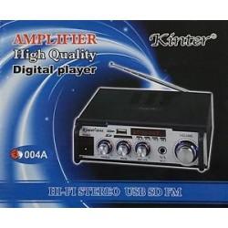 Усилвател за домашна употреба с караоке Kinter 004A