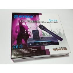 Комплект професионални безжични микрофони 3 в 1 WVNGR WG-210B